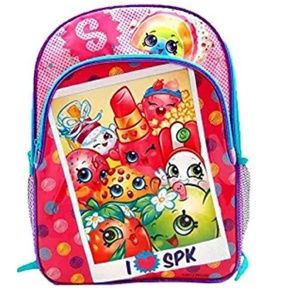 Shopkins 16 Large School Backpack With Pockets